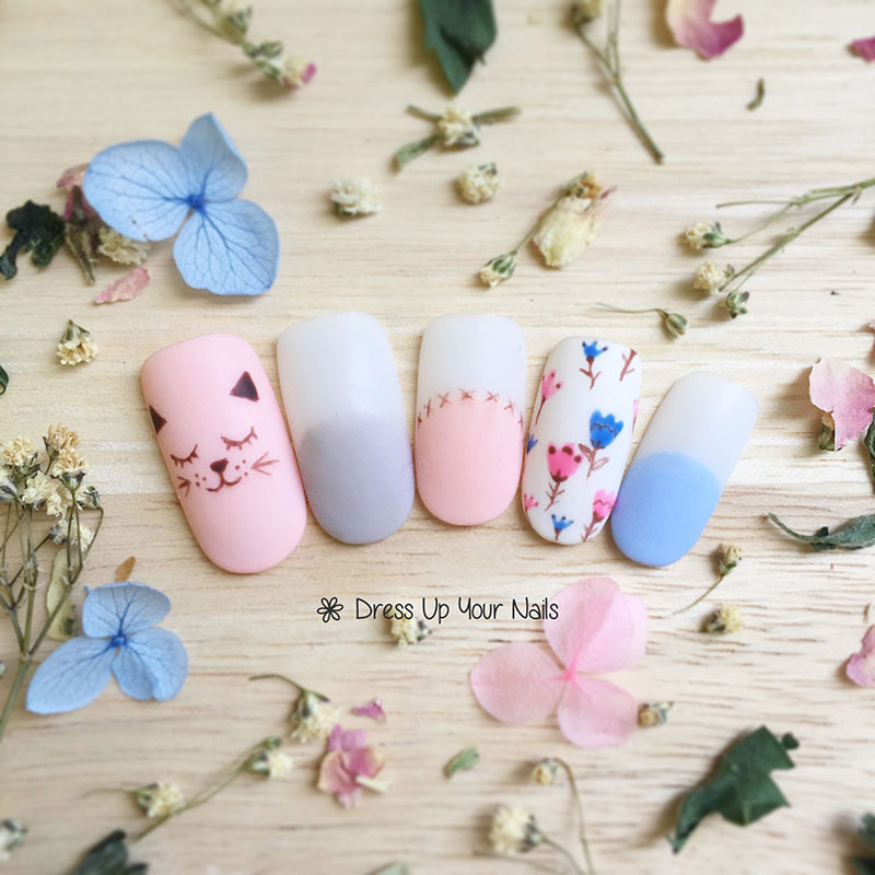 Spring Nail Flower Manicure 16