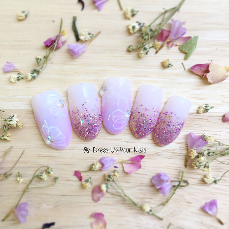 Spring Nail Flower Manicure 18