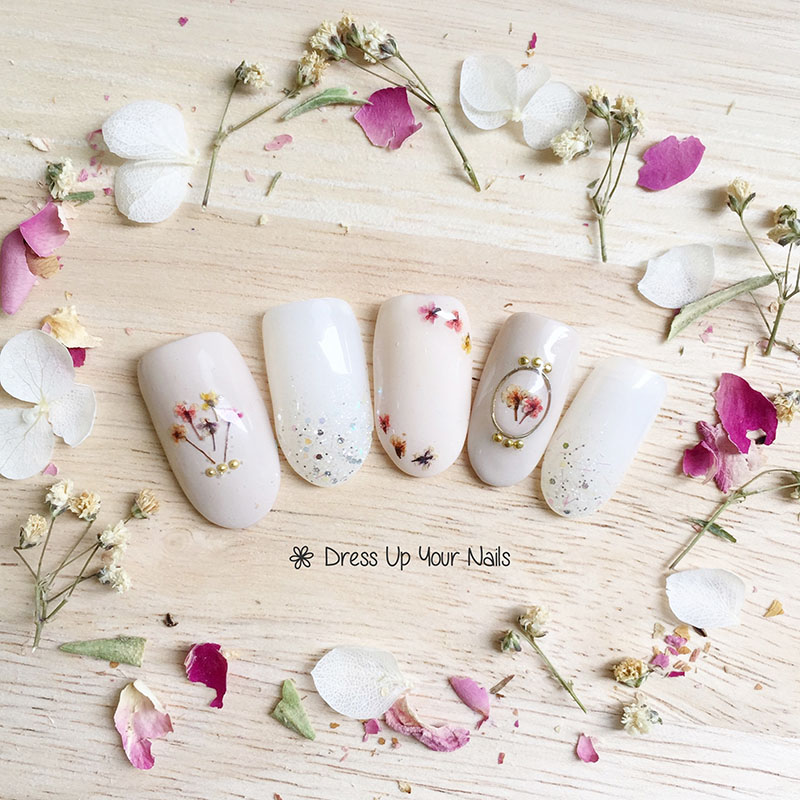 Spring Nail Flower Manicure 6