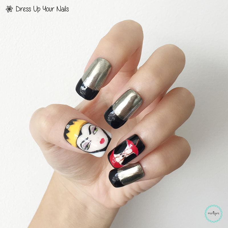 Snow White Nail Art 3