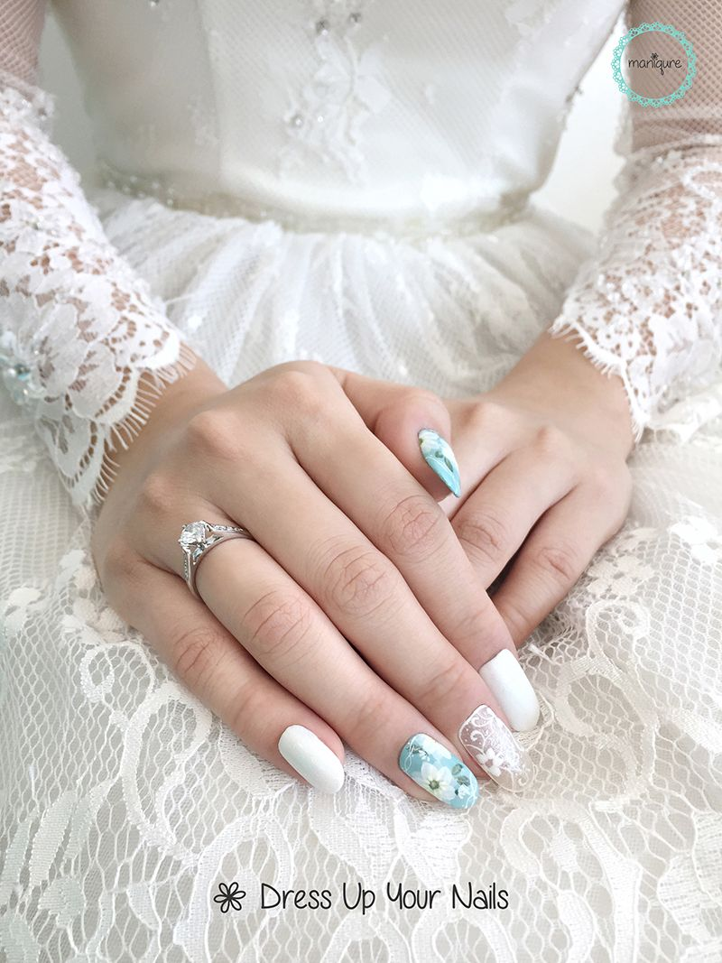 Wedding Nails 2017 For Bride 1