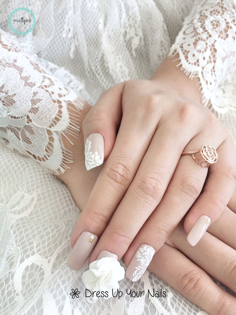 Wedding Nails for Bride 10