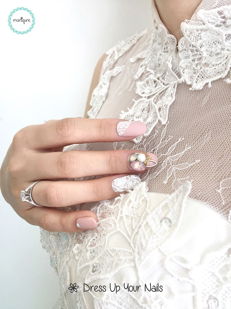 Wedding Nails for Bride 11