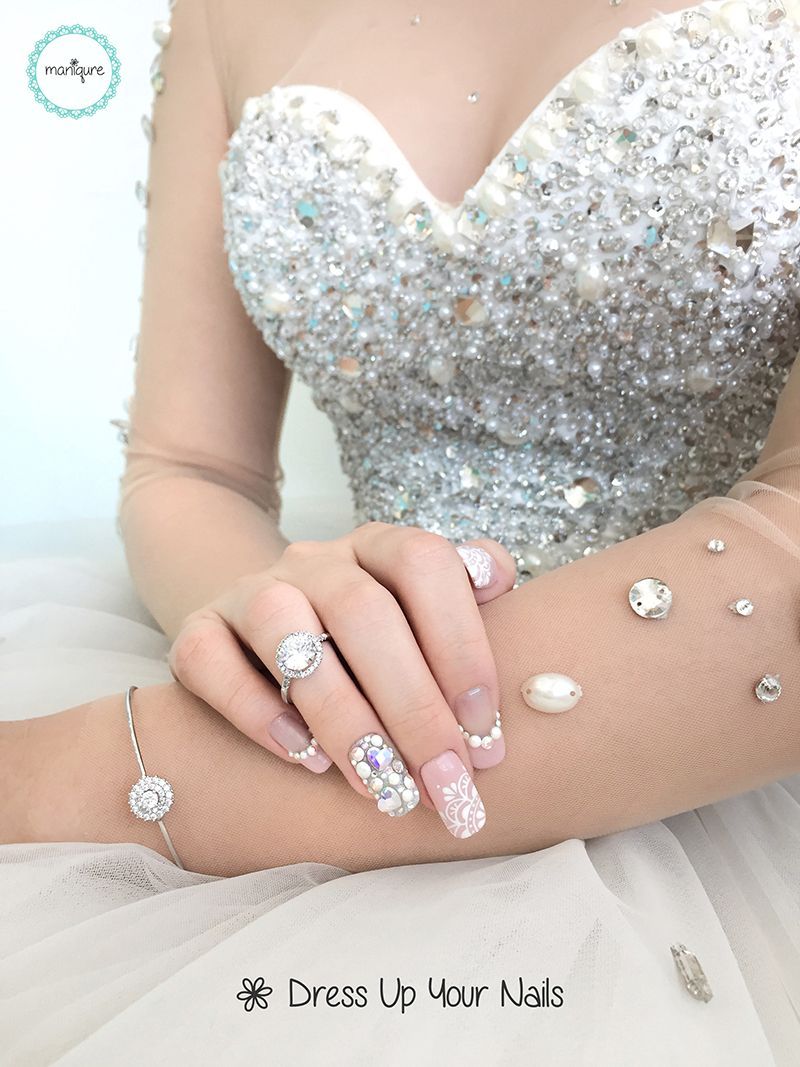 Wedding Nails for Bride 12