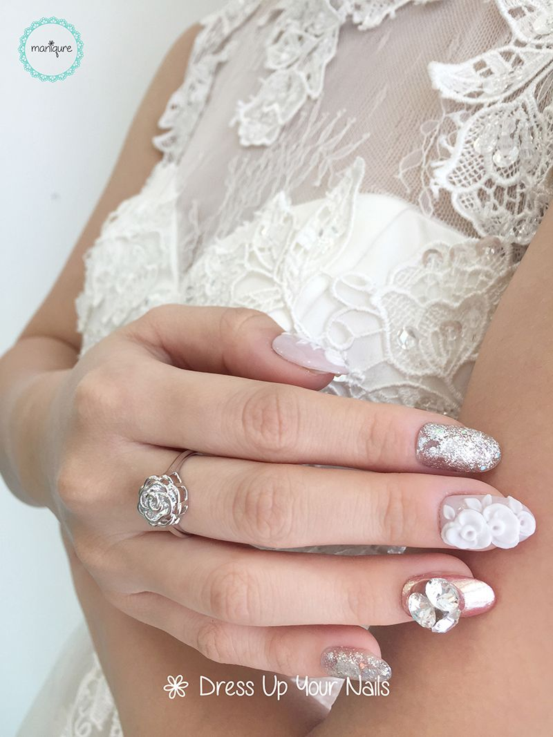 Wedding Nails for Bride 13