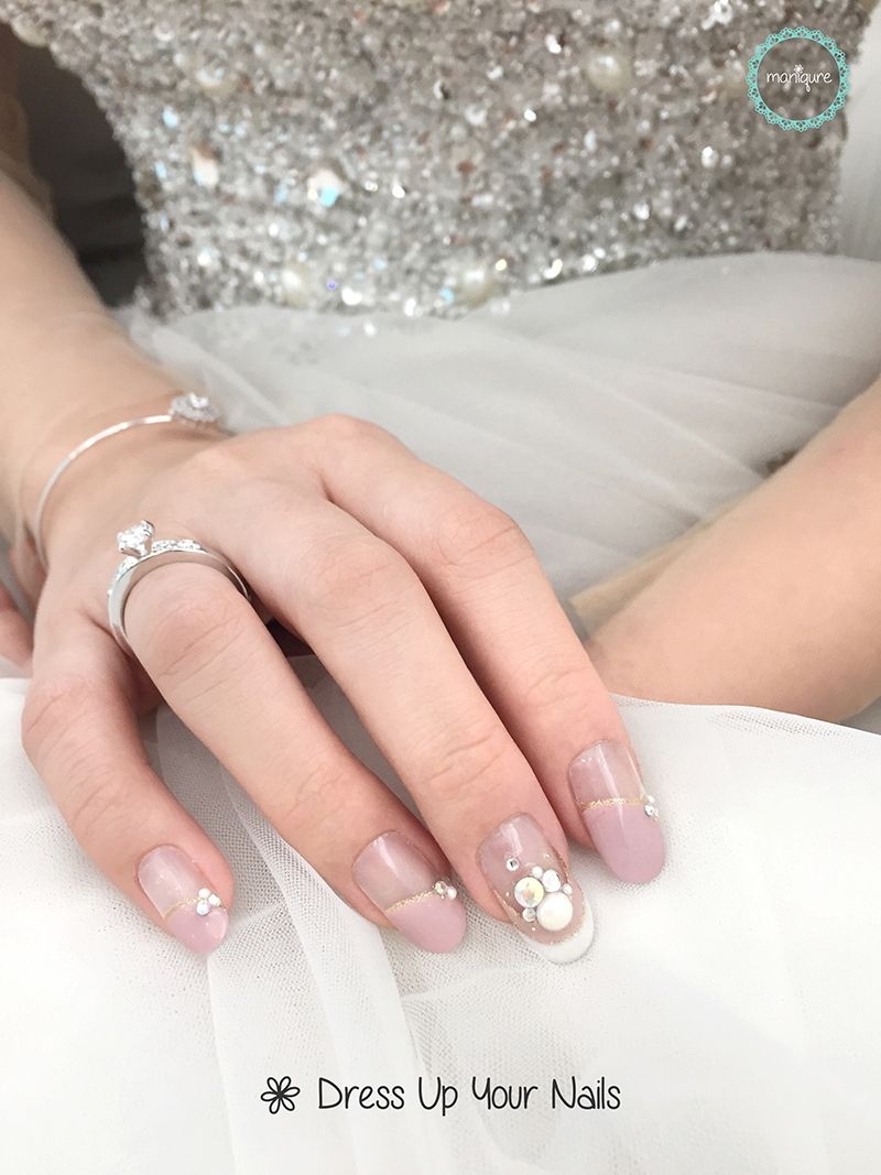 Wedding Nails for Bride 15
