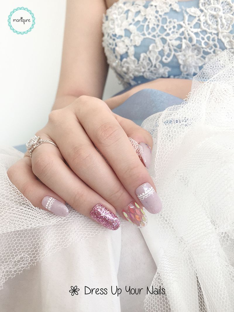 Wedding Nails for Bride 16