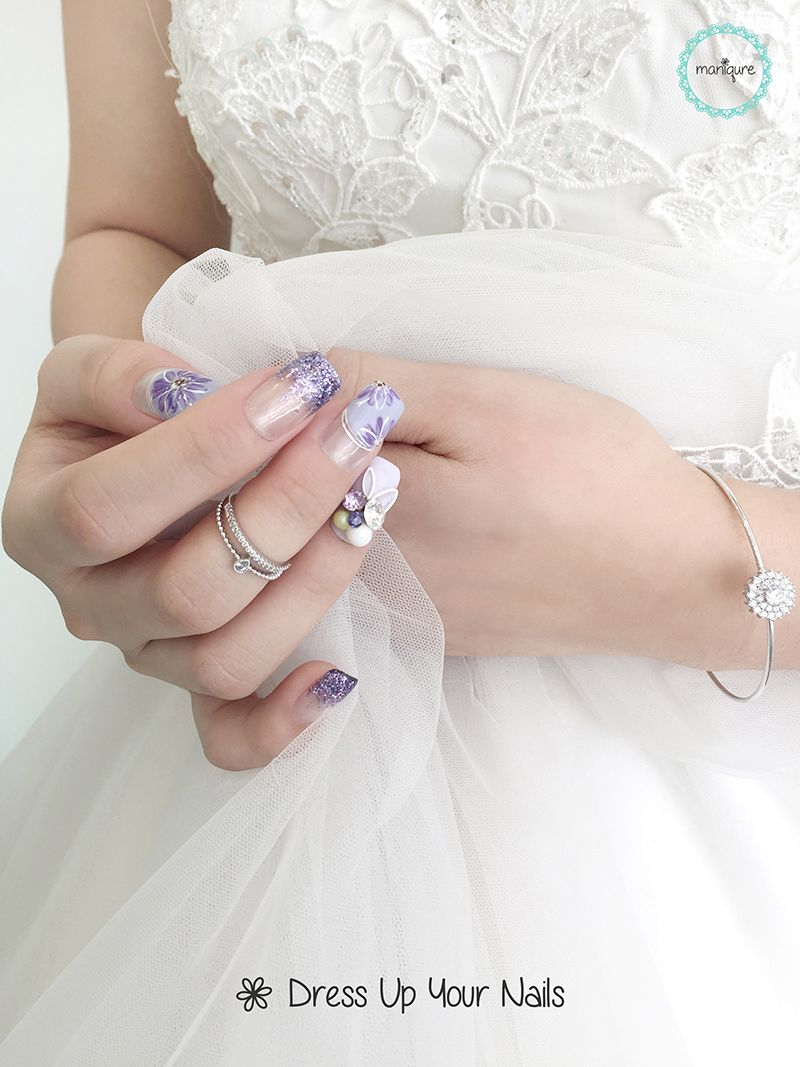 Wedding Nails for Bride 18