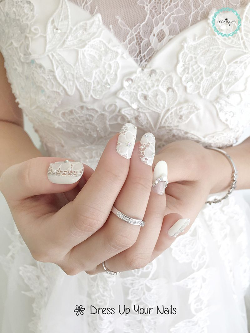 Wedding Nails for Bride 19