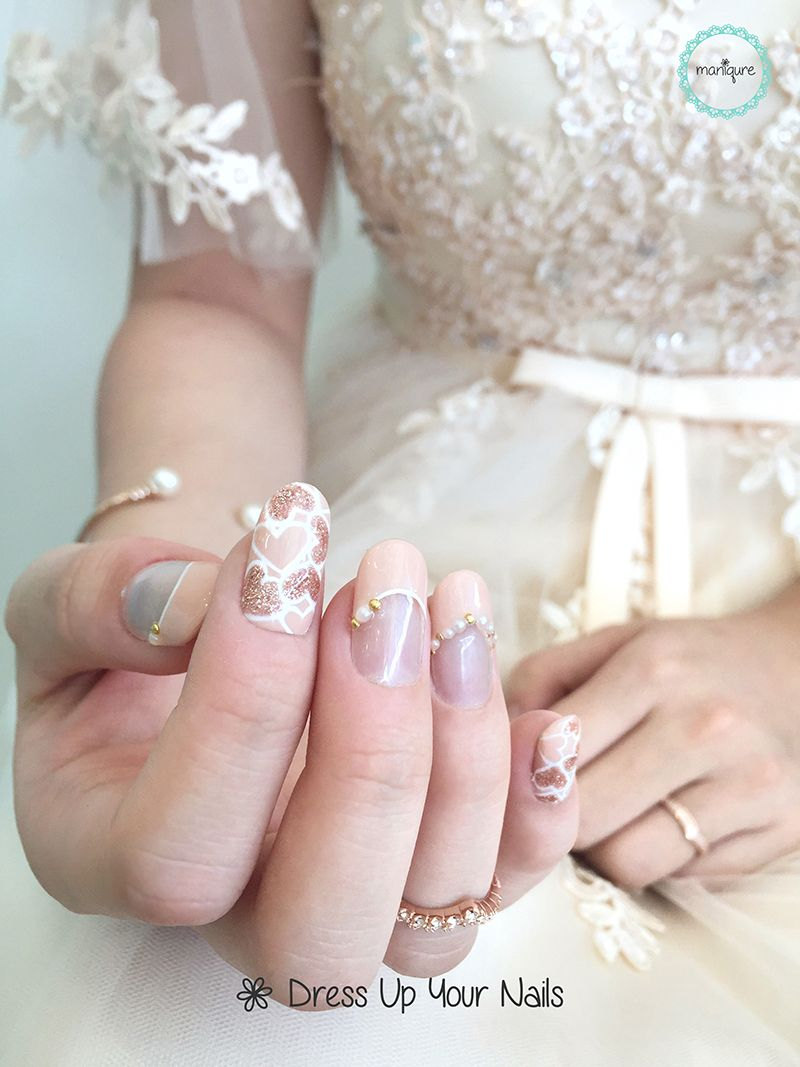 Wedding Nails 2017 For Bride 2