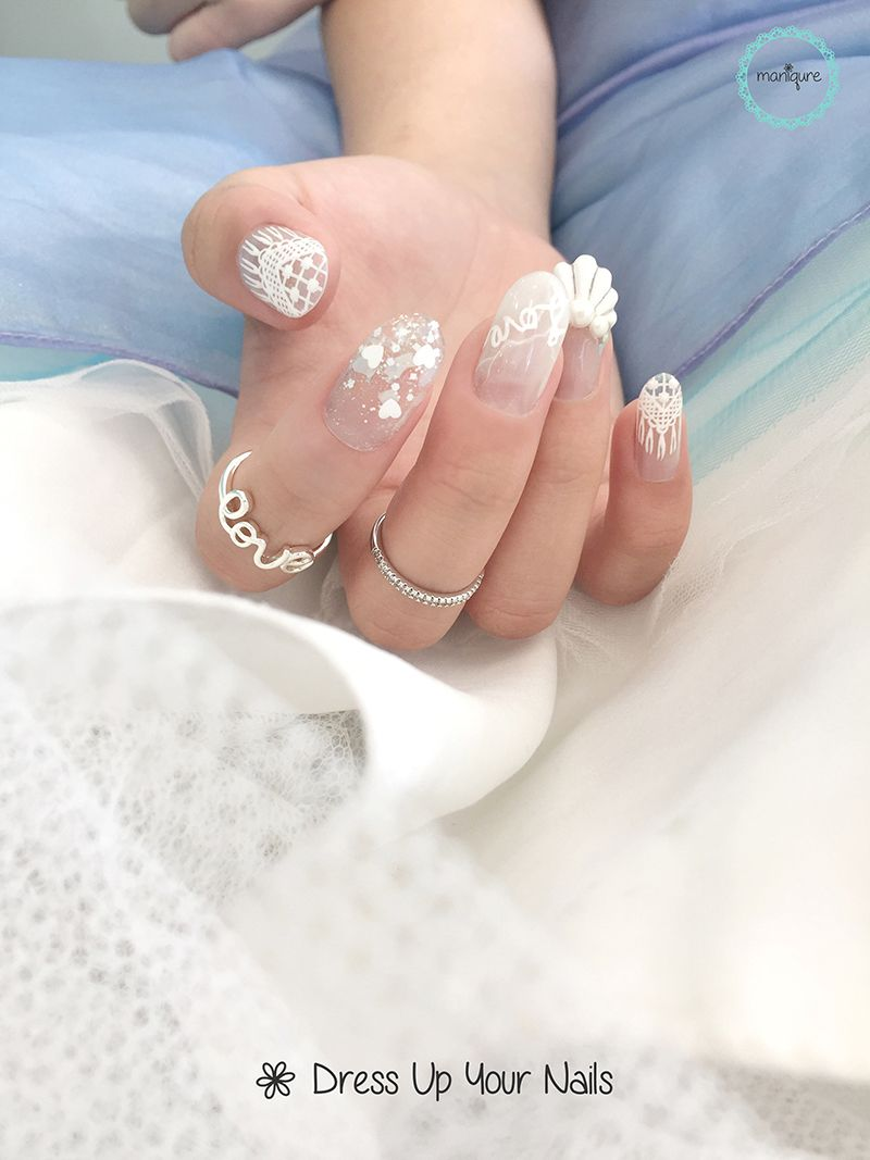 Wedding Nails for Bride 21