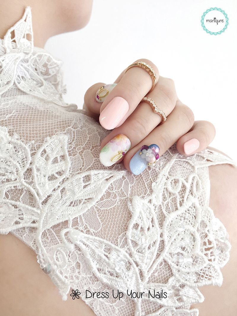 Wedding Nails for Bride 4