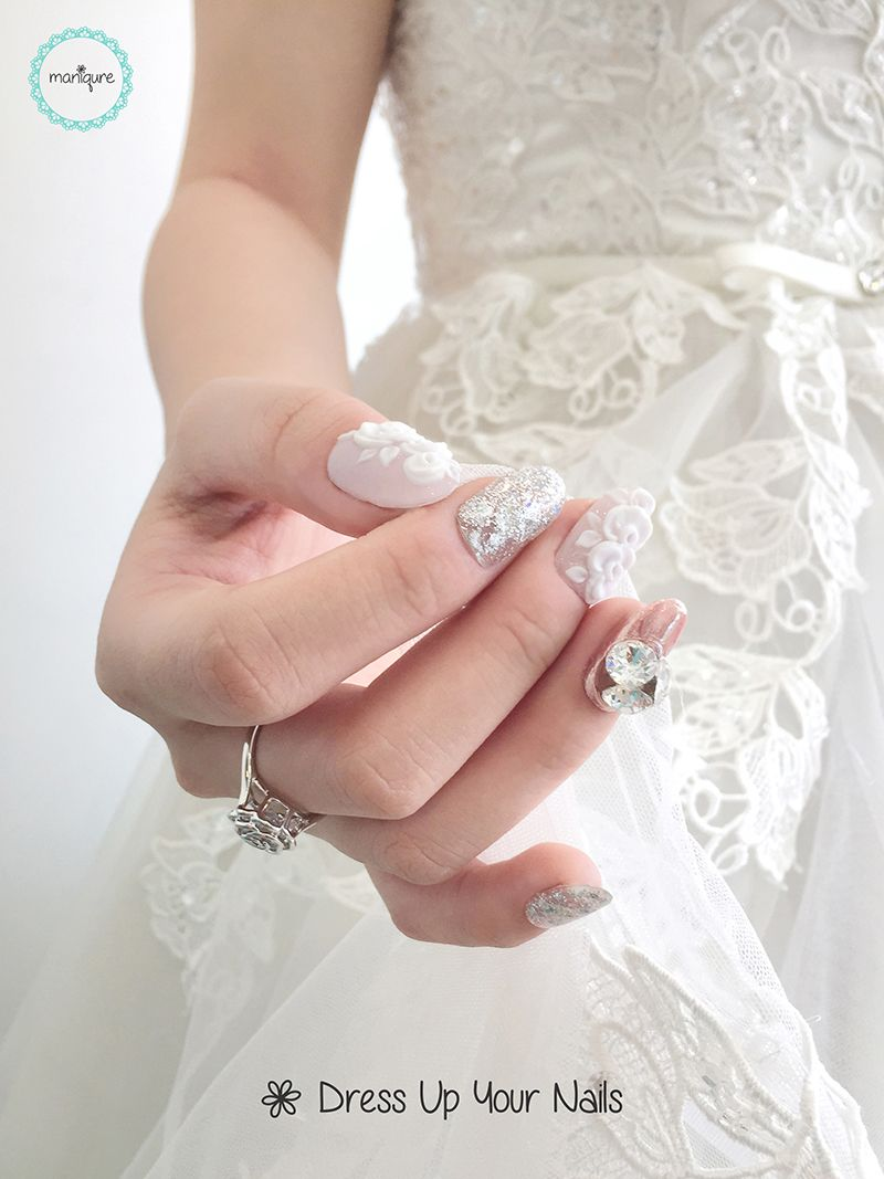 Wedding Nails for Bride 7