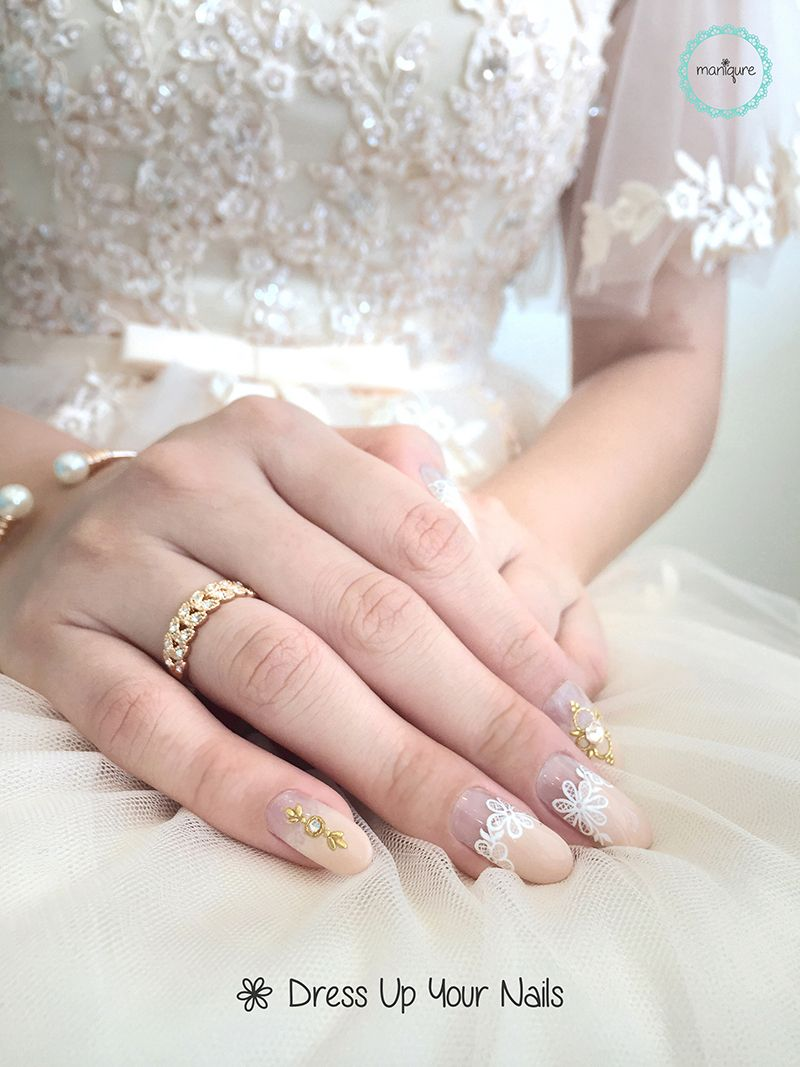 Wedding Nails for Bride 8