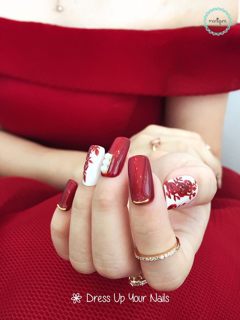 Wedding Nails for Bride 9