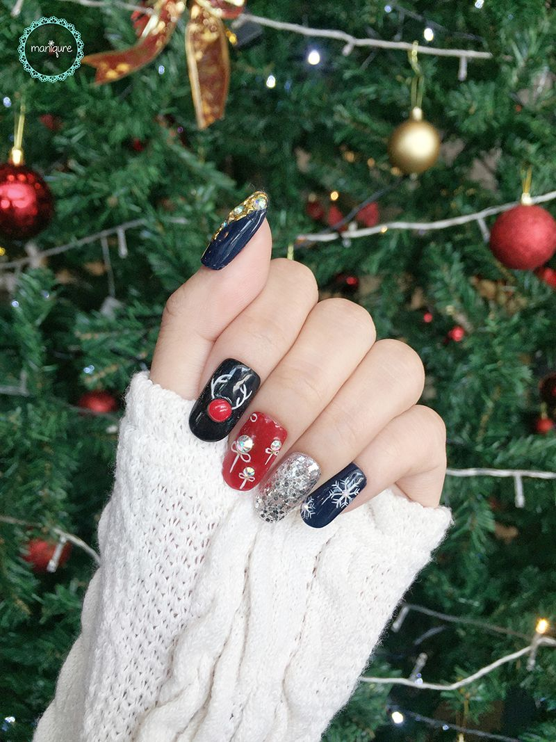 Rudolph the Red-Nosed Reindeer Nails