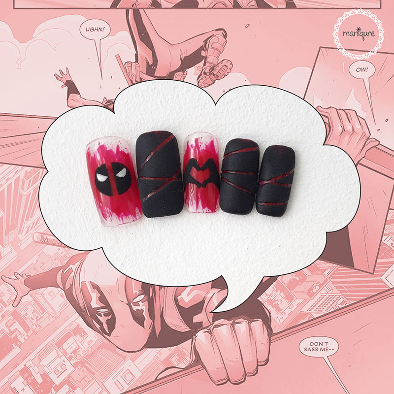 Deadpool Nails 2