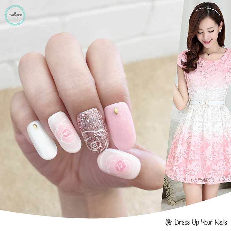 Blended Manicure Nail Art 3