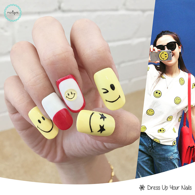 Drawing Manicure Nail Art 3