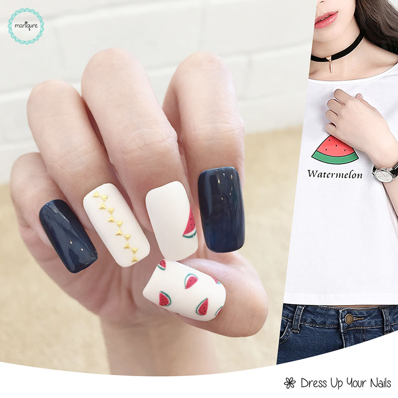 Drawing Manicure Nail Art 5