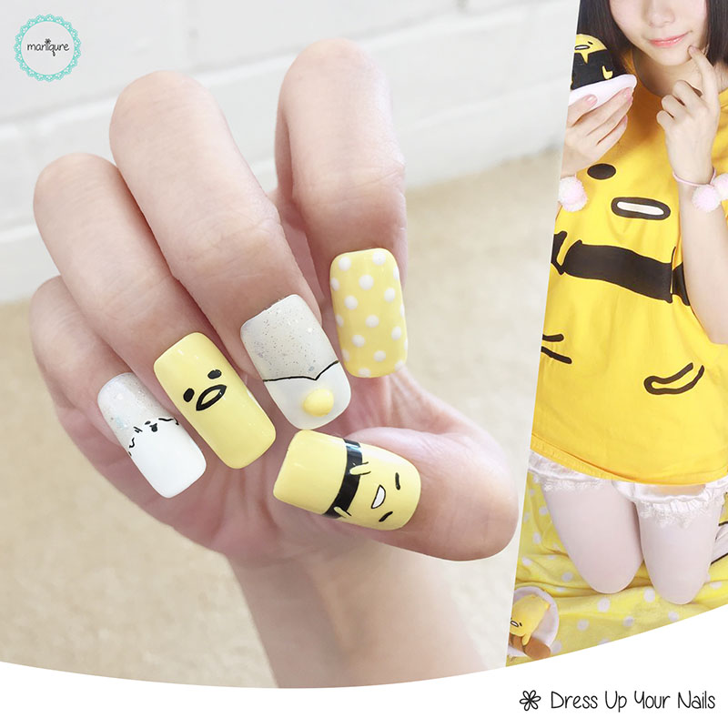 Drawing Manicure Nail Art 6