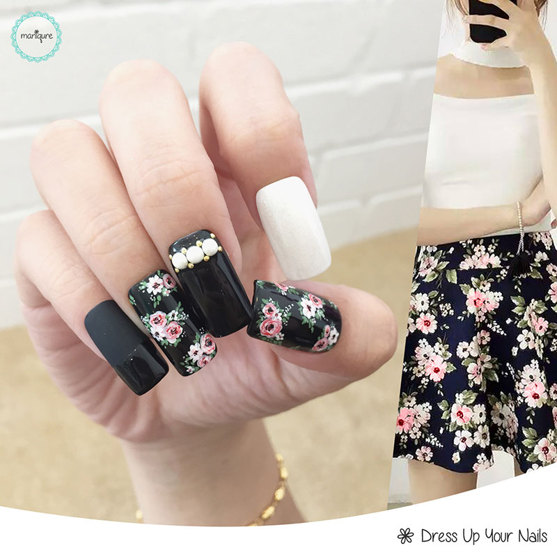 Flower Manicure Nail Art 2