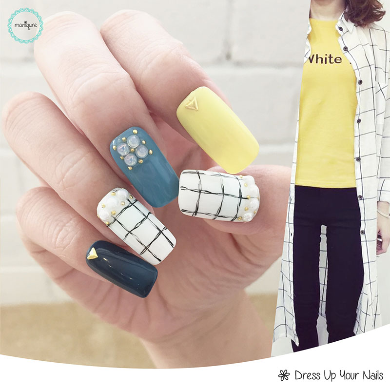 Korean Matching Manicure Nail Art