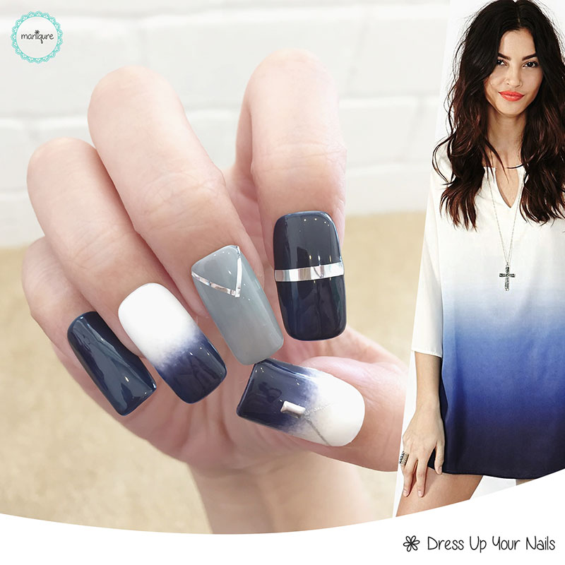 Ombre Manicure Nail Art 1