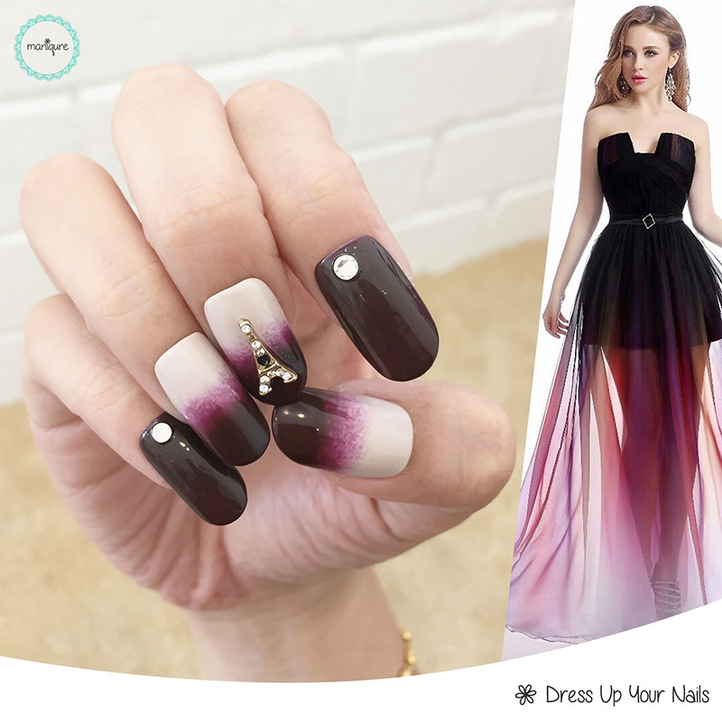 Ombre Manicure Nail Art 2