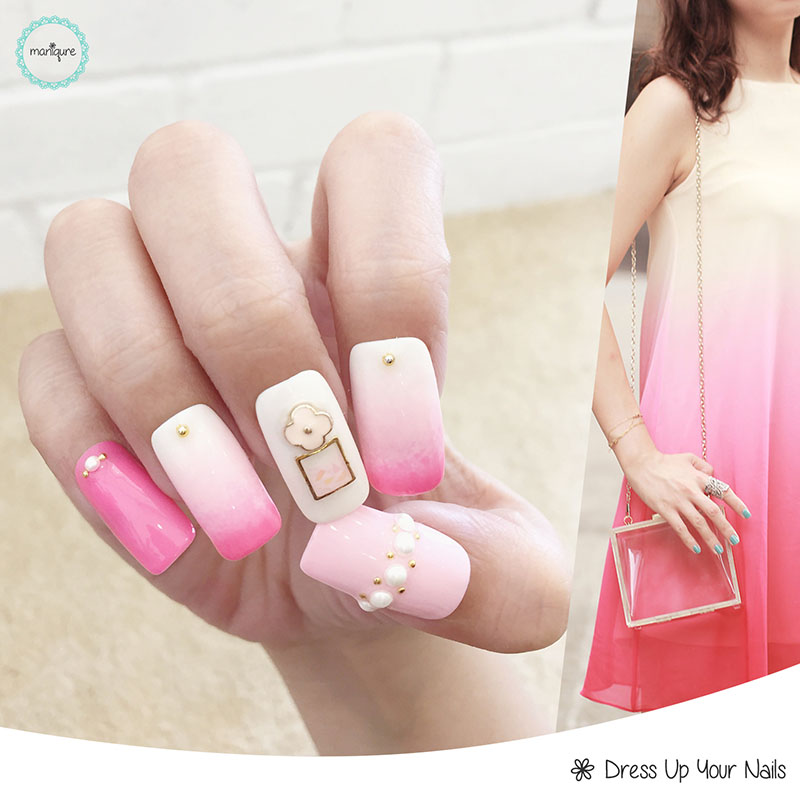Ombre Manicure Nail Art 3