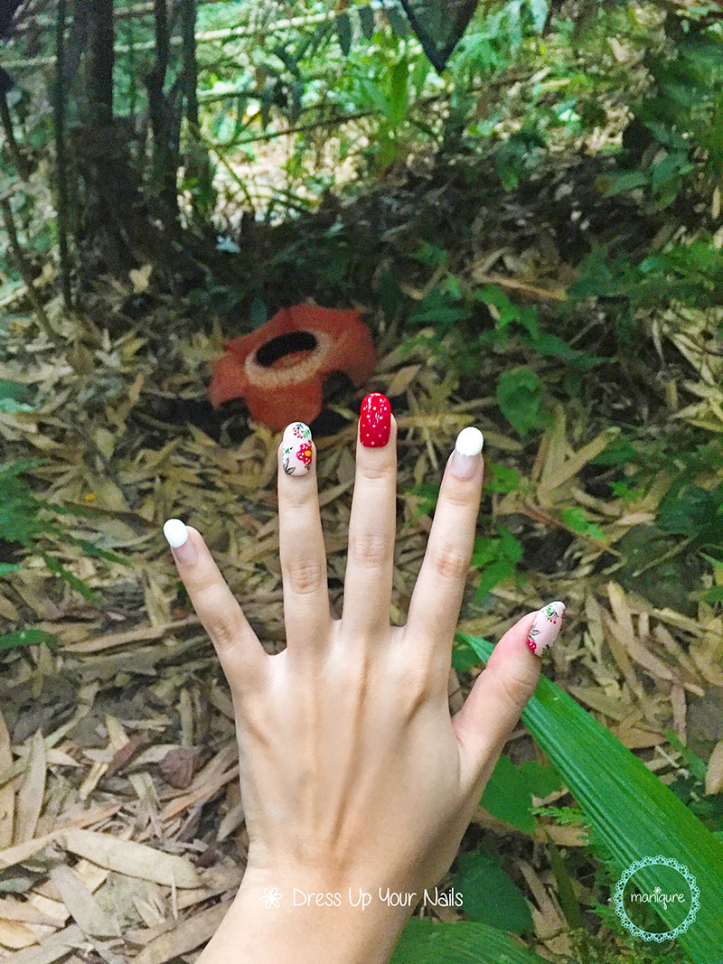 Rafflesia Flower Nails