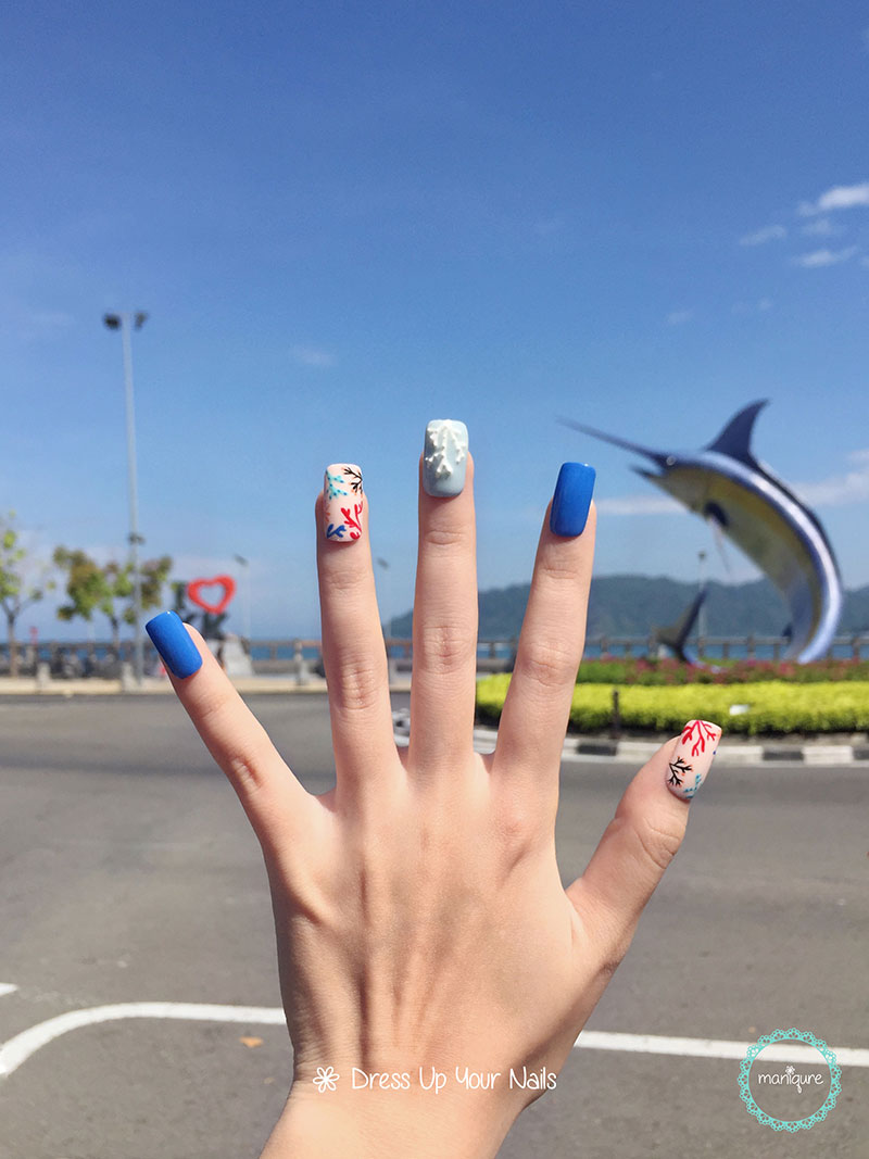 Swordfish Statue Nails