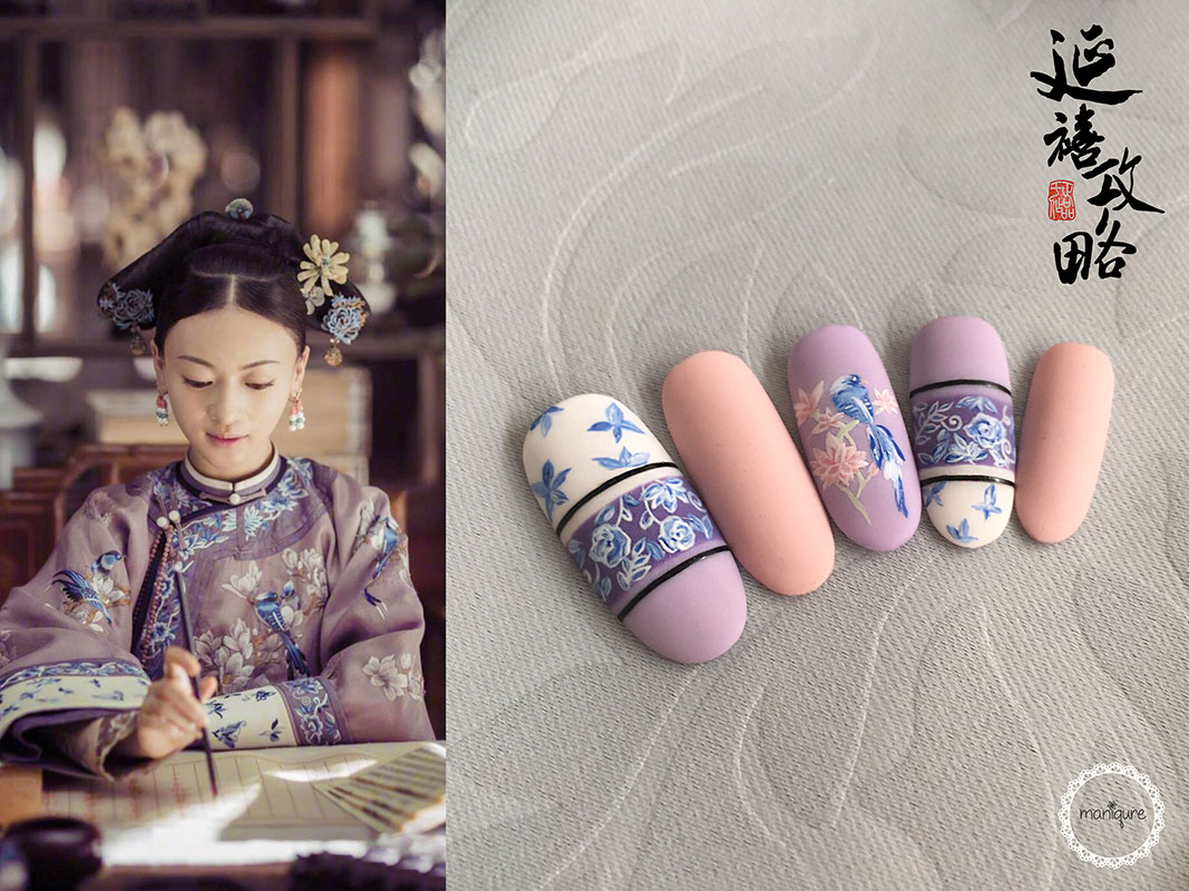 Lady Ling - Yanxi Palace Nails