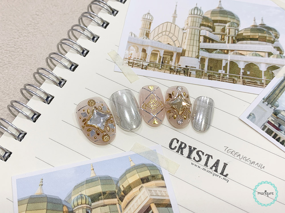 Crystal Mosque Nails
