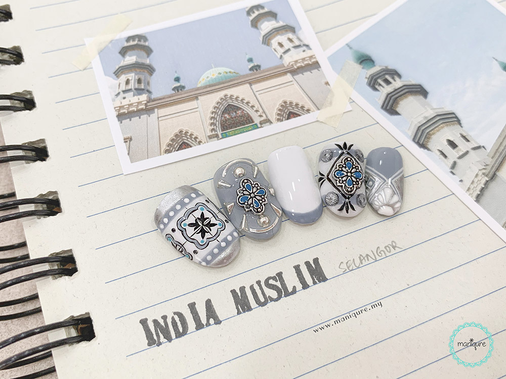 India Muslim Mosque Nails
