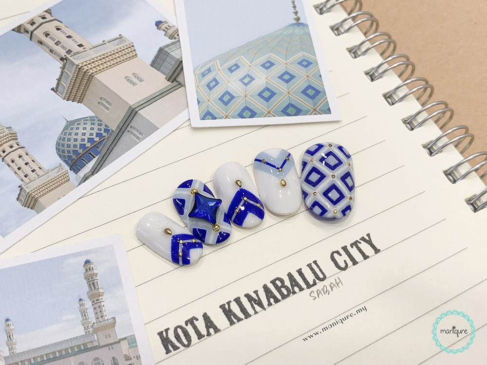 Kota Kinabalu City Mosque Nails