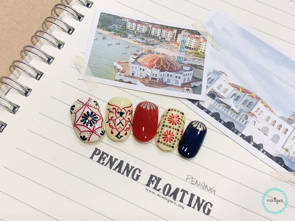 Penang Floating Mosque Nails