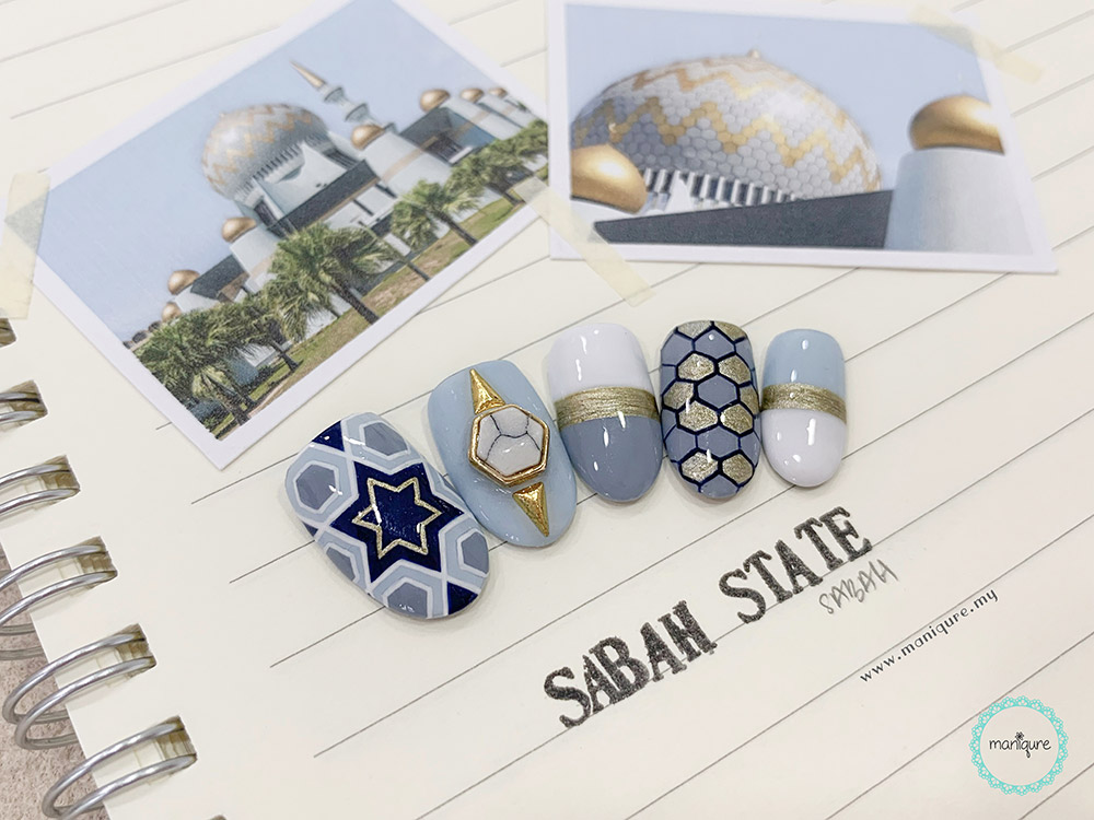 Sabah State Mosque Nails