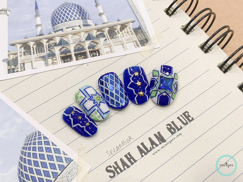 Shah Alam Blue Mosque Nails