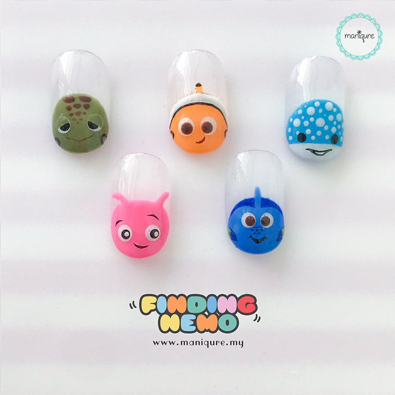 Finding Nemo Tsum Tsum Nails