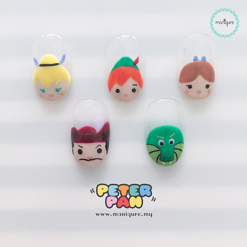 Peter Pan Tsum Tsum Nails