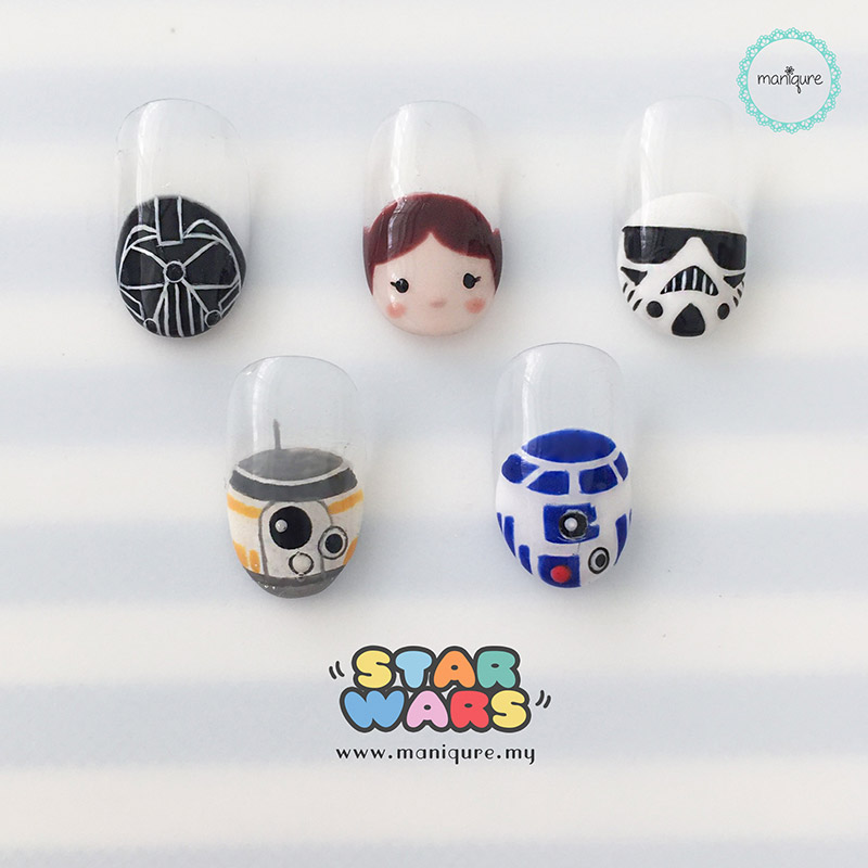 Star Wars Tsum Tsum Nails