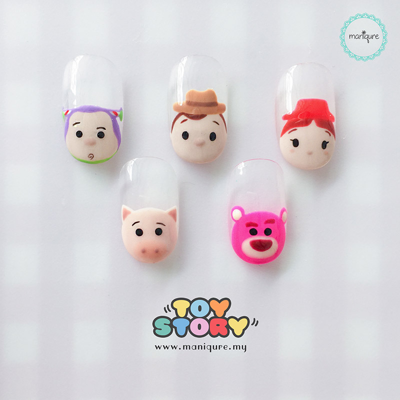Toy Story Tsum Tsum Nails