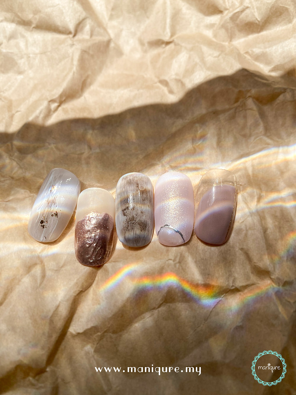 Have It All - Marble Stone Nails