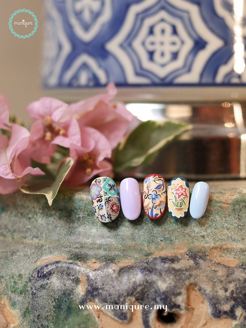 Chinoiserie Nails