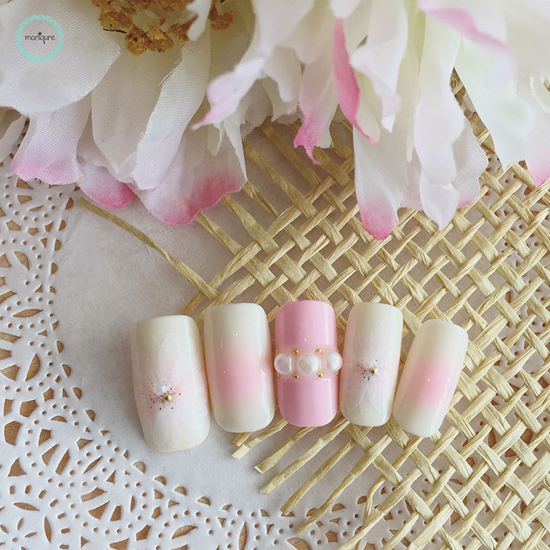 Bride-to-Be Nails Wedding Bridal Manicure 10