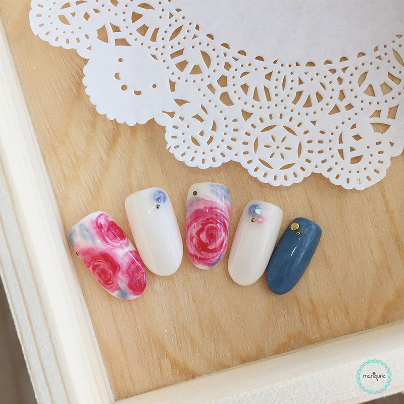 Bride-to-Be Nails Wedding Bridal Manicure 16