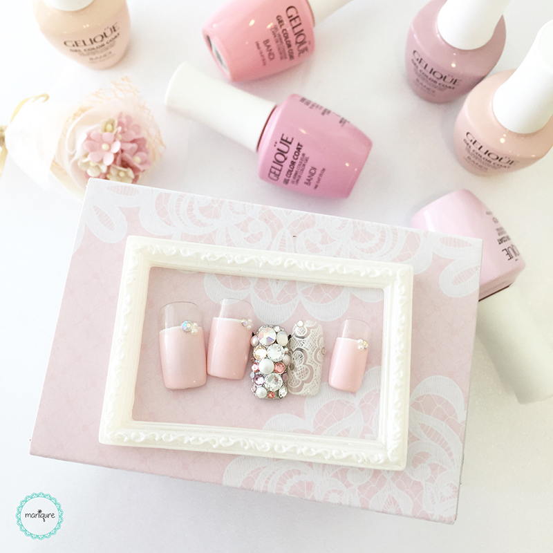 Bride-to-Be Nails Wedding Bridal Manicure 24