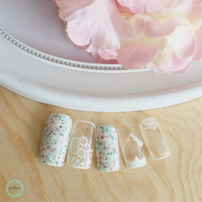 Bride-to-Be Nails Wedding Bridal Manicure 5