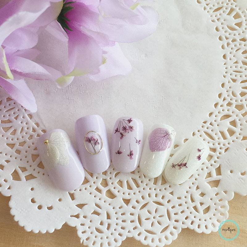 Bride-to-Be Nails Wedding Bridal Manicure 9